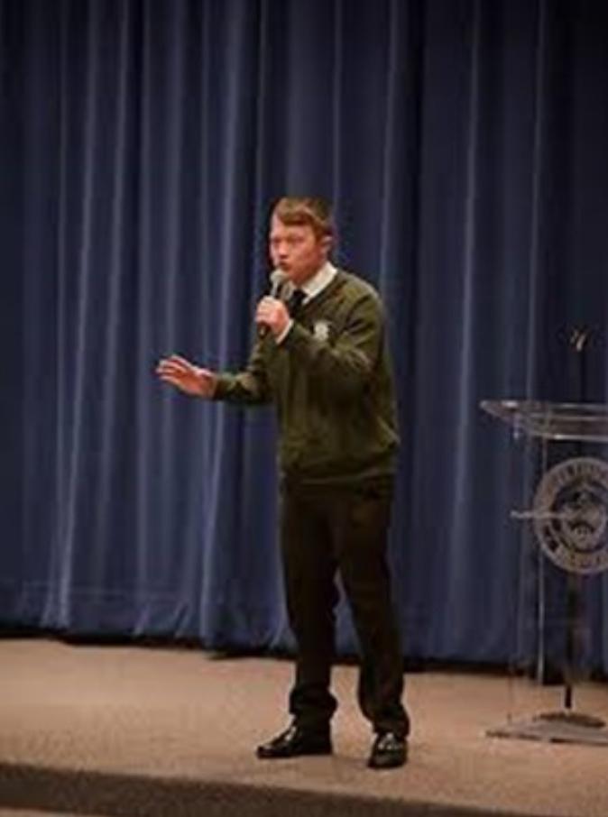 Public Speaking: ALove-Hate Relationship - 4-H Boy Speaking