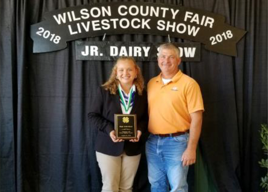 State 4-H Dairy Judging Contest Results - High Individual: Maggie Dunivan, Lincoln County