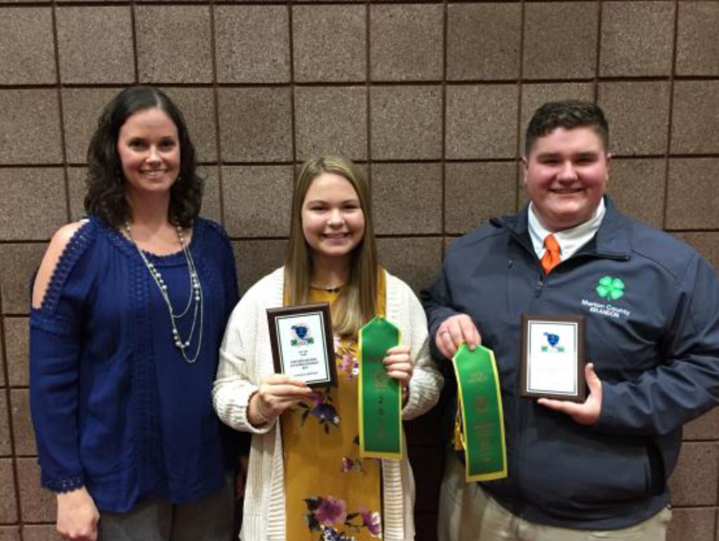 Tennessee 4-H Horse Program Youth Earn National Recognition - Maddie Ashburn and Brandon Bass from Marion County did an excellent job presenting in the team demonstration communications contest.
