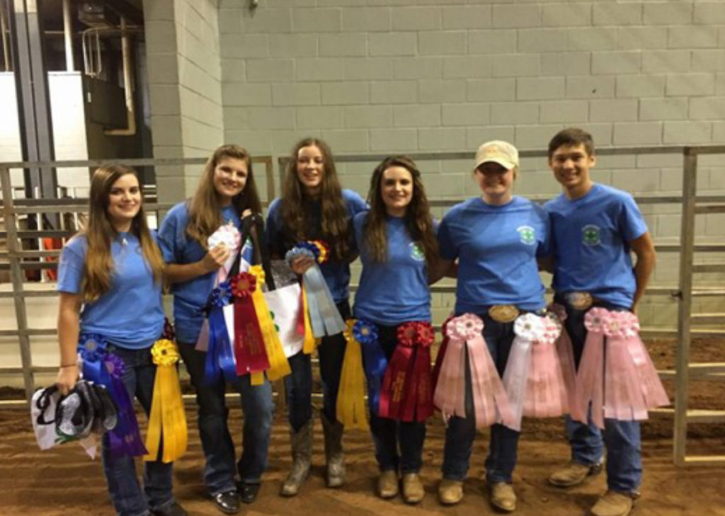 Tennessee 4-H Members Excel at Southern Regional Horse Championships - Many of our riders brought home top 10 ribbons including Zach McCarver (Madison County), Kasey Hines (Franklin County), Taylor Dunagan (Henry County), Callie Thornton (Henry County), Madison Aiosa (Henry County), Jalen Smith (Warren County), Lei-Ane Smith (Clay County), Cami Chamberlin (Franklin County), Haley Porter (Marshall County). Others competing included: Madison Ashe (Henderson County), Madison Franks (Lawrence County, Ab- by McCalmon (Madison County), Maggie Sims (McMinn County), Rylie Millsaps (Bradley County), Kyra Petty (Bradley County), Alysssa Simons (Carroll County), Jen- sen Smith (Warren County) and Kailey VandeKamp (Wilson County)