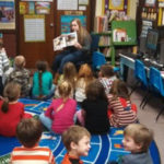 Tennessee Agriculture Literacy Week - Teacher in classroom full of young 4-H'ers