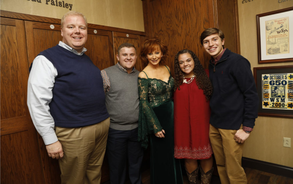 Tennessee 4-H State Council Members Meet Reba! - Pictured: Justin Crowe, Extension Specialist, Aaron Lay, Monroe County, Reba McEntire, Shaylyn Melhorn, Morgan County and Grant Hitchcock, Warren County.