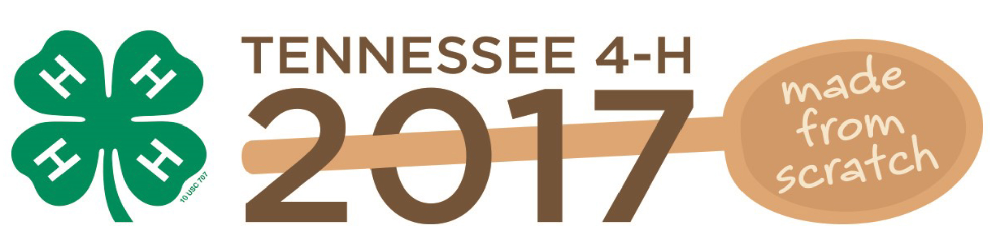 Tennessee 4-H 2017 Made From Scratch Logo