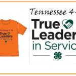 Tennesseee 4-H True Leaders in Service