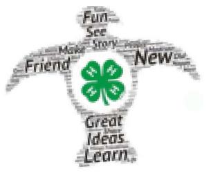 4-H - Fun, See, Friend, New, Great Ideas, Learn