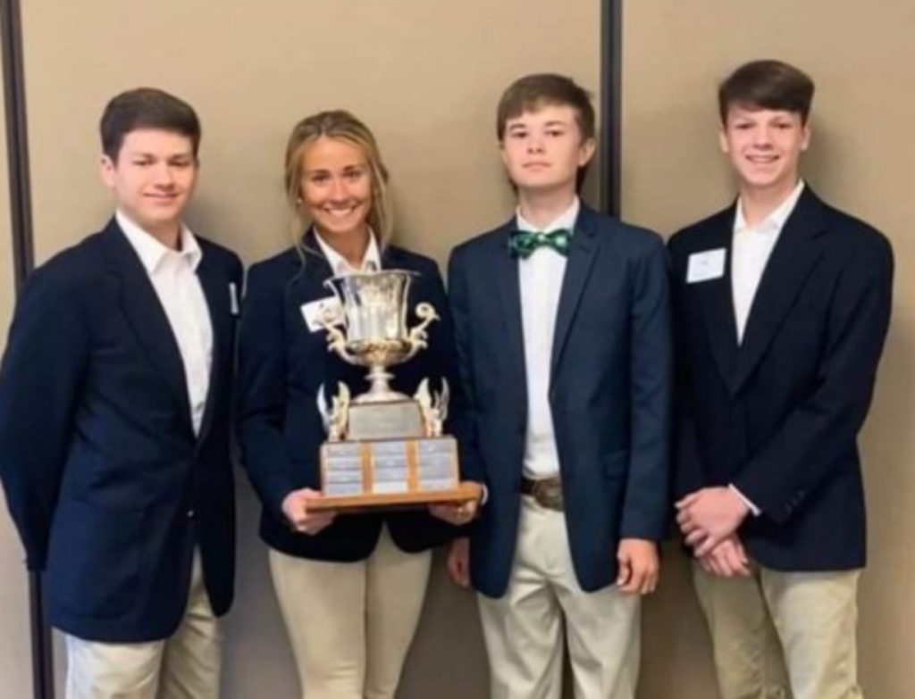 2020 State 4-H Livestock & Meat Judging Contest Results
