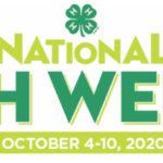 National 4-H Week - October 4-10, 2020