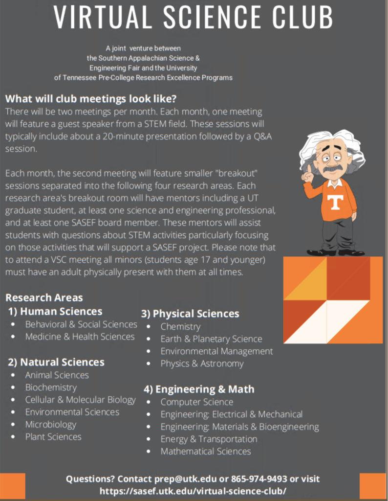 Virtual Science Club - 2