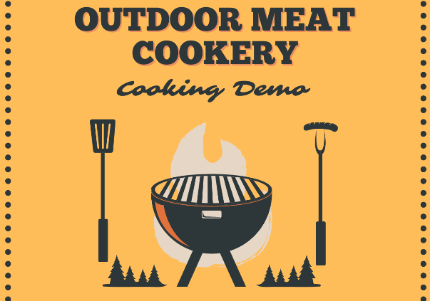 Outdoor Meat Cookery Cooking Demo
